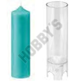 Round Pointed Candle Mould
