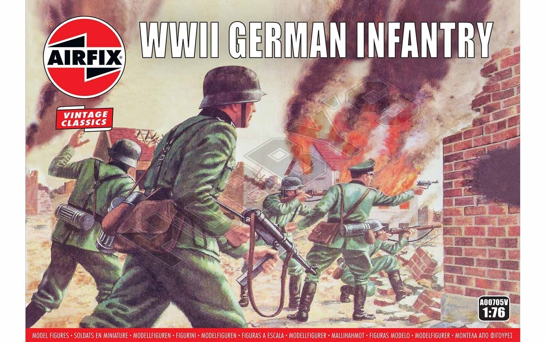 Airfix - WWII German Infantry Box
