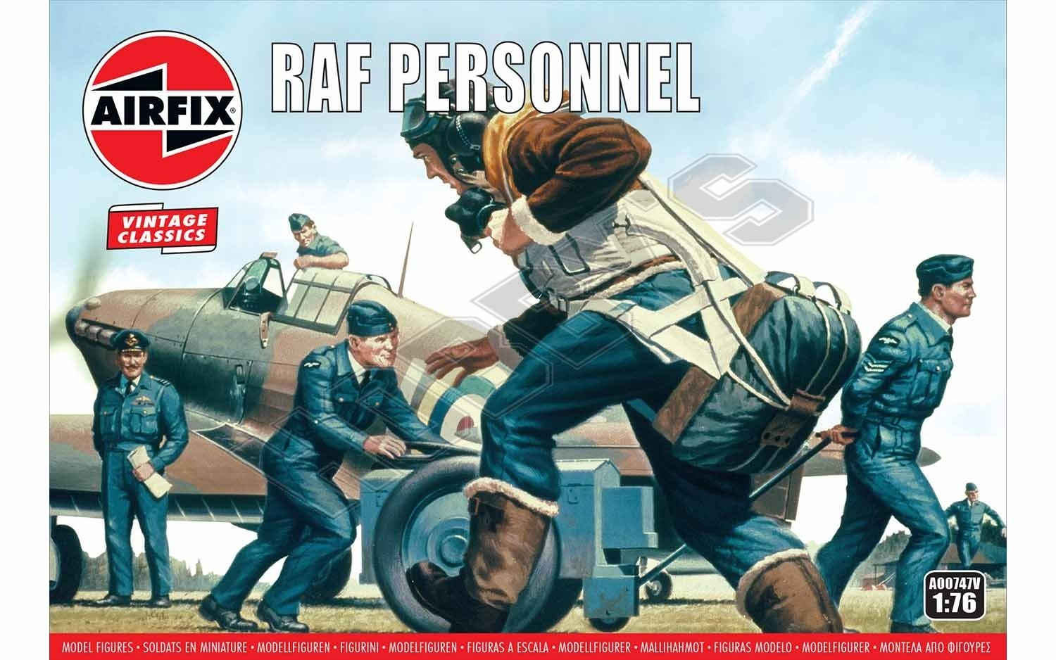 Airfix - Raf Personnel Cover