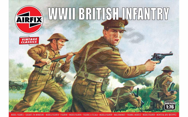 Airfix - WWII British Infantry Box