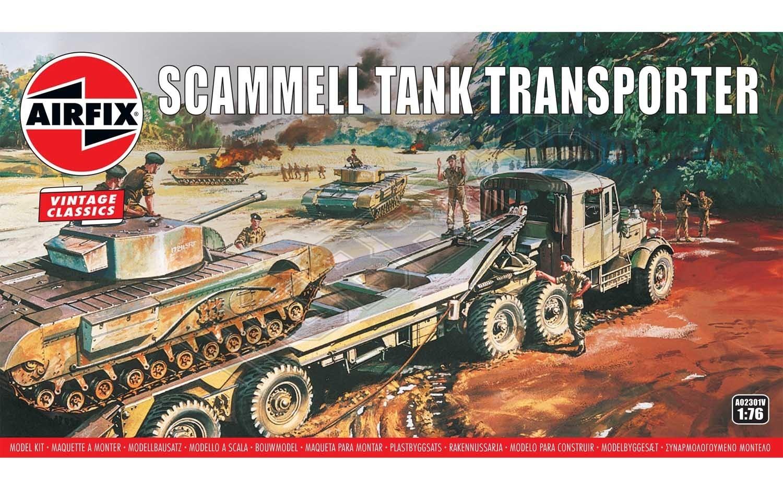 Airfix - Scammel Tank Trans AW