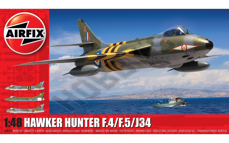 Airfix - Hawker Hunter F.4 AW