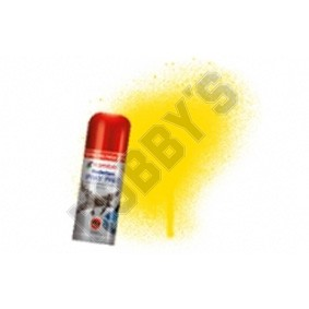 Humbrol Acrylic Hobby Spray Paint - Yellow Gloss