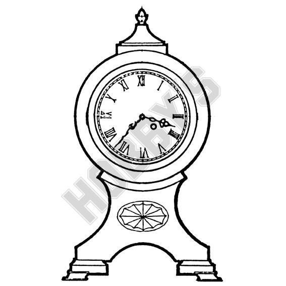 18th Century Balloon Clock Plan