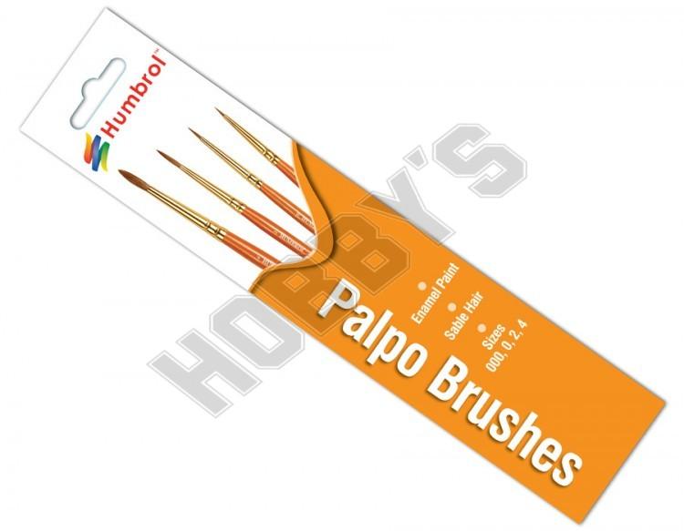 Paint Brush Set - Enamel