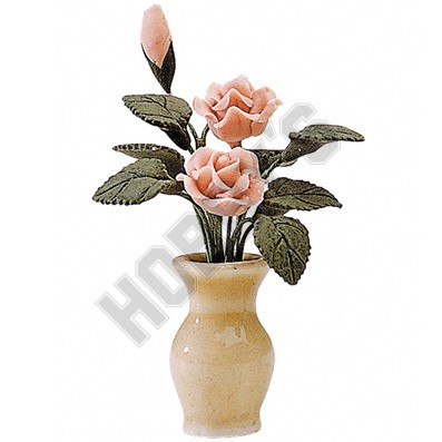 Flowers in Small Vase