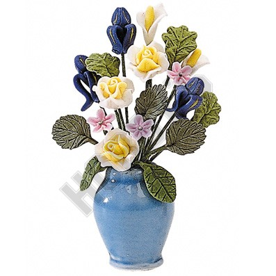 Flowers in Large Vase