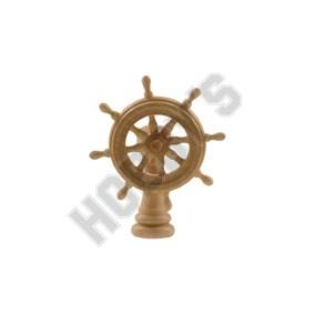 Wooden Ship's Wheel