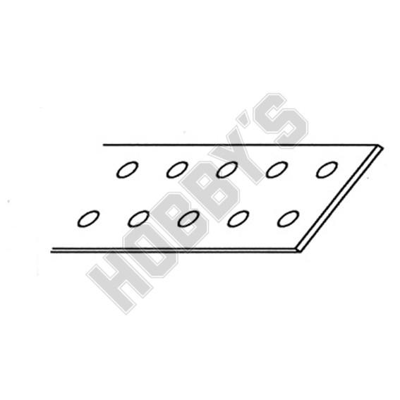 Aluminium Strip, Drilled