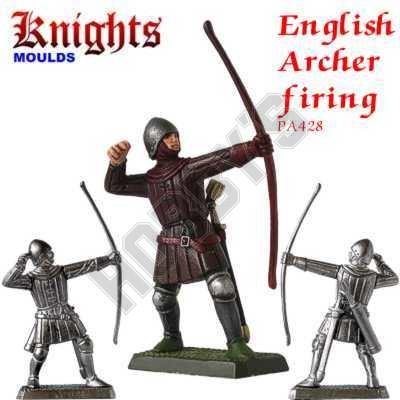 Medieval English Longbowman (Archer) Firing
