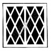 Lattice Window - 156mm x 80mm