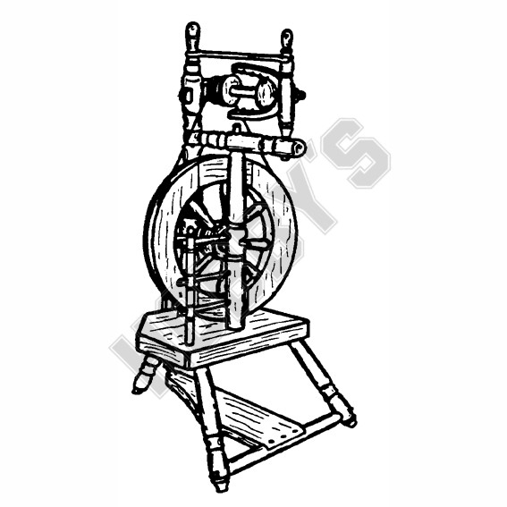 Hebridean Spinning Wheel Plan