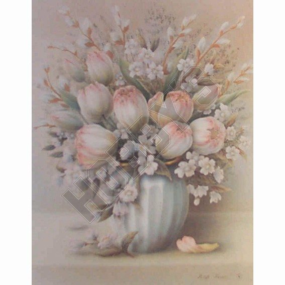 Vase Of Flowers - 3D Picture Kit