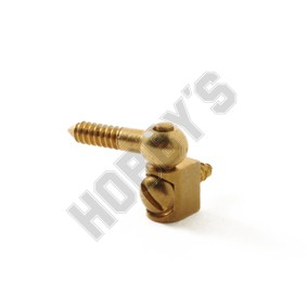 """Brass Pin Hinge - 3/8"""""""