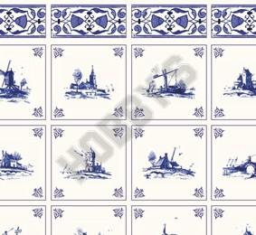 Delft Landscapes Wallpaper
