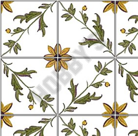 Tile Sheet - Green/Brown/White