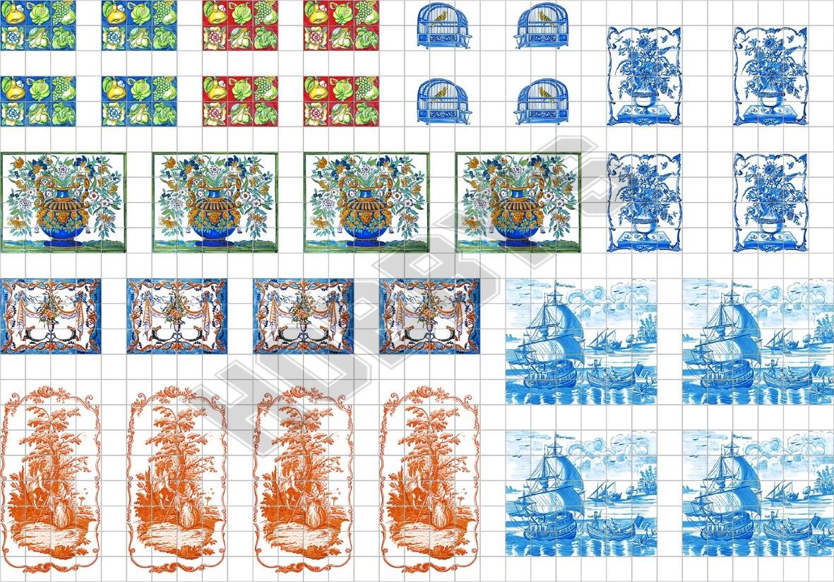Tile Sheet - Assorted