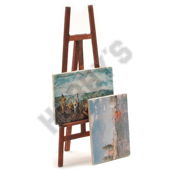 Artists Easel & Pictures