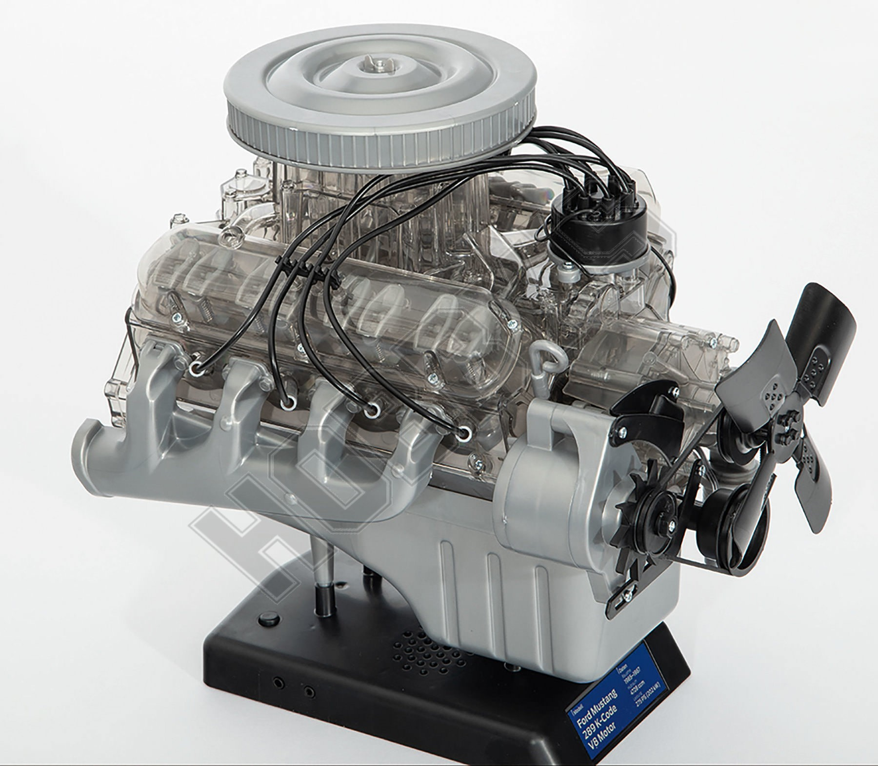 Ford Mustang V8 Model Engine 1