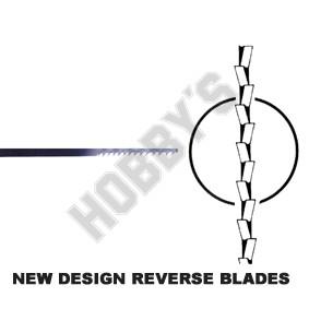 Fretsaw Reverse Blade