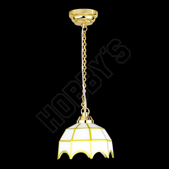 Hanging Tiffany Lamp