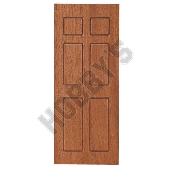 Exterior Door Panel - Mahogany