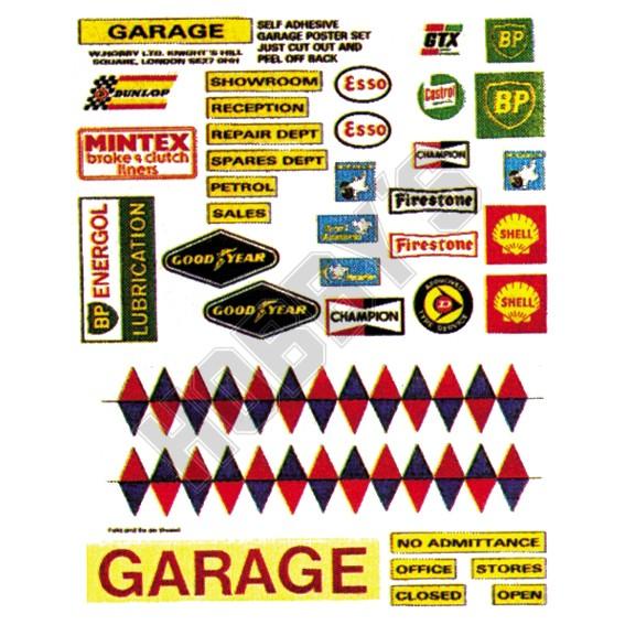 Garage Poster Set