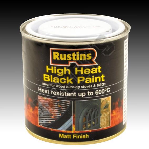 High Heat Black Paint