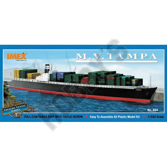 Tampa Container Ship