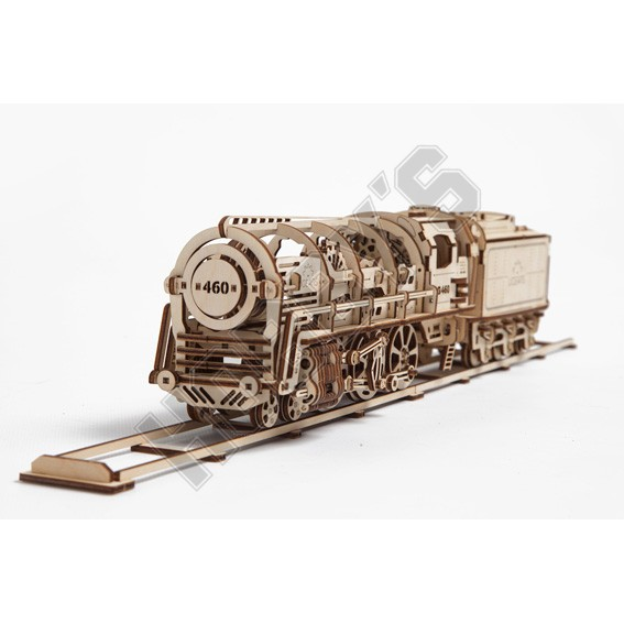 Locomotive With Tender