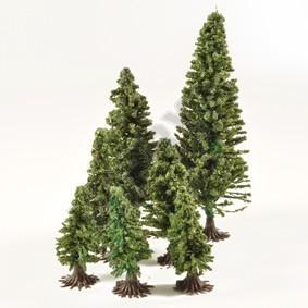 Fir Trees with Feet