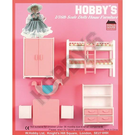 Hobby,s Nursery Set - 16th Scale (