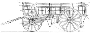 Broad-Wheeled Sussex Waggon Plan