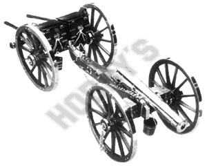Plan - British 9lb Field Gun