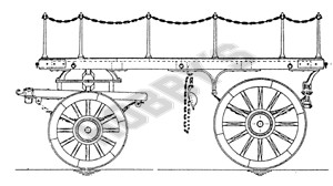 Flat Lurry (Heavy Duty Dray ) Plan