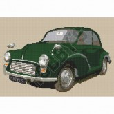 Cross Stitch - Morris Minor