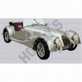 Cross Stitch - Morgan Car