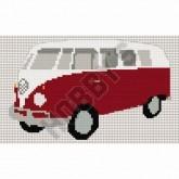 Cross Stitch - Camper Van with Split Screen