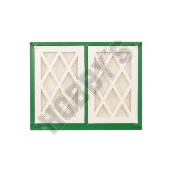 Lattice Double Window