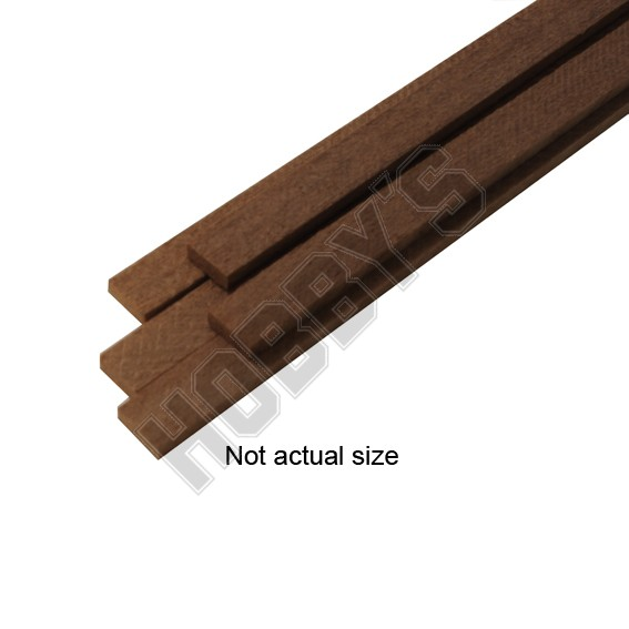 Wood Strips 3 x 3 x 500mm