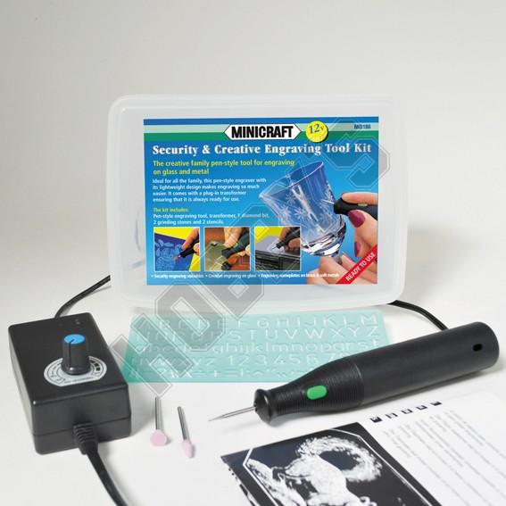 Security & Creative Engraving Kit