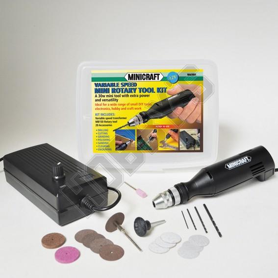 Variable Speed Drill Kit