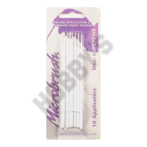Microbrush - Super Fine (White)