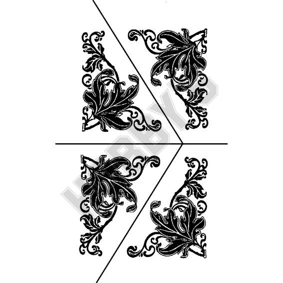 Flowers - Corner Displays X 4