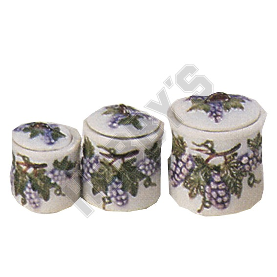 Set of Three Containers