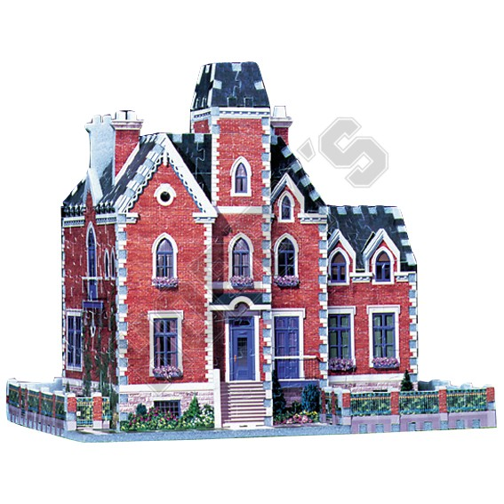 The Old Mansion - 3D Puzzle