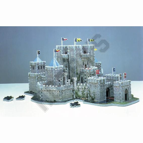Camelot - 3D Jigsaw