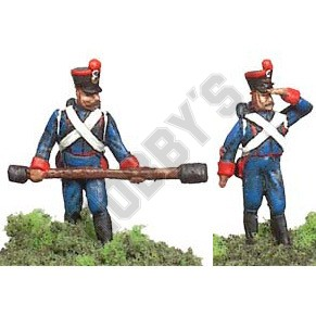 French 2 Foot Artillery men