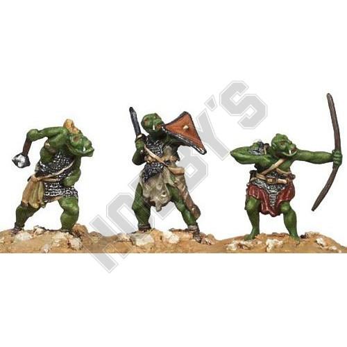 Casting Mould - Orcs x 3