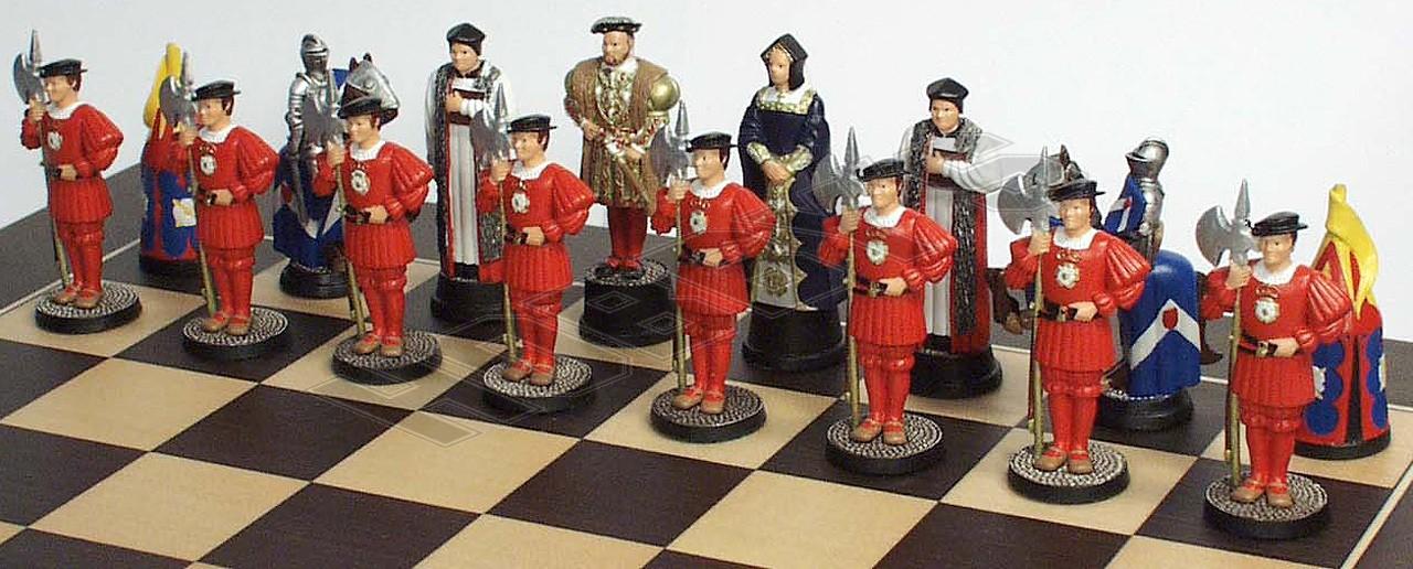 Henry VIII Chess Set